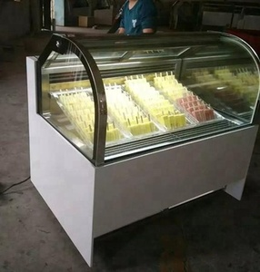 Factory Directly Sales I Ice Cream cabinet Popsicle Display Showcase