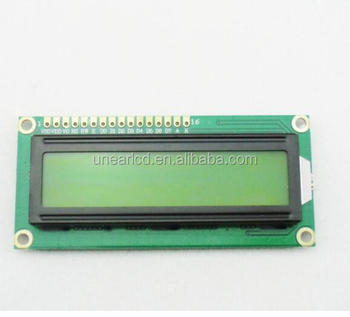1604B character dot matrix 5V 3.3V parallel blue and white 1604 LCD display for microprocessor UNLCD91858