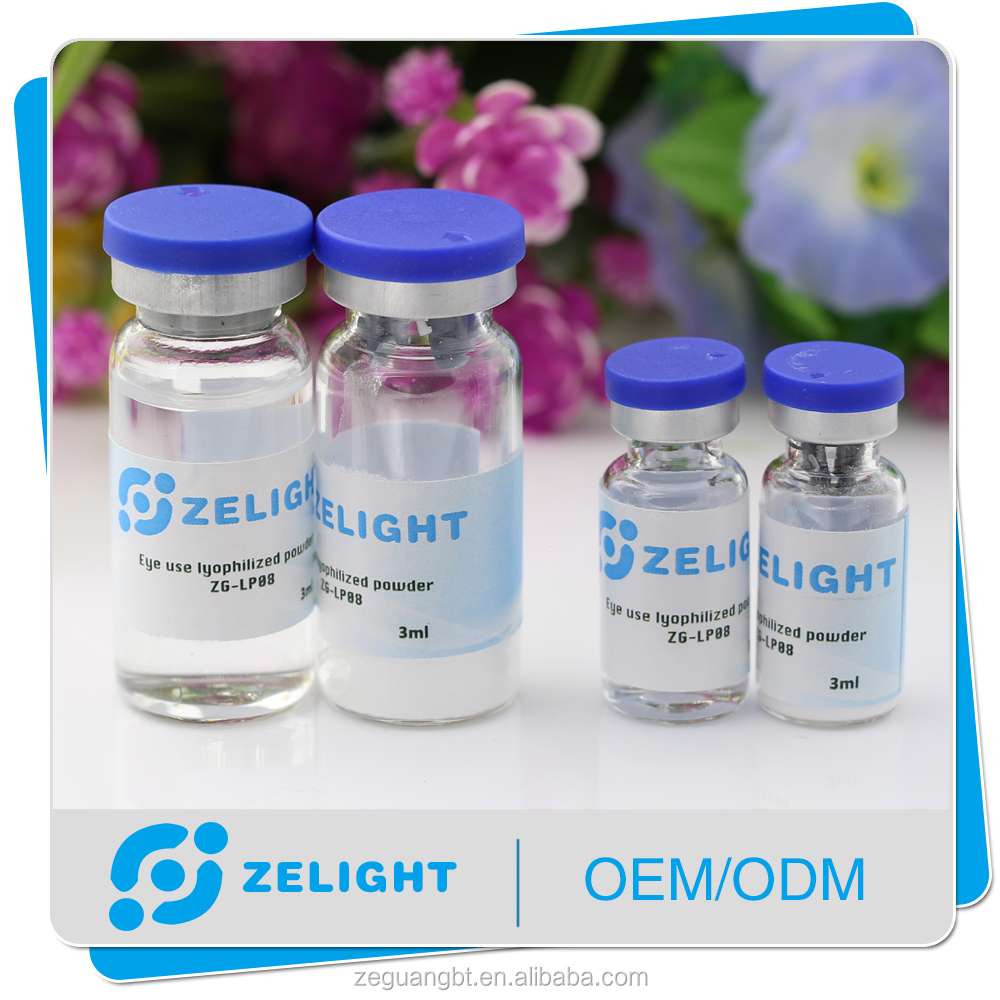 eye care eye cream dark circle ZELIGHT eye use lyophilized powder/serum/cream with other customized forms
