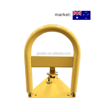 Australia High quality car garage parking lock / car space stopper / antheft car park lock