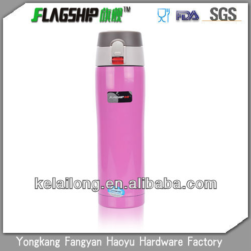 360ml/500ml double layer steel vacuum thermos flask refills