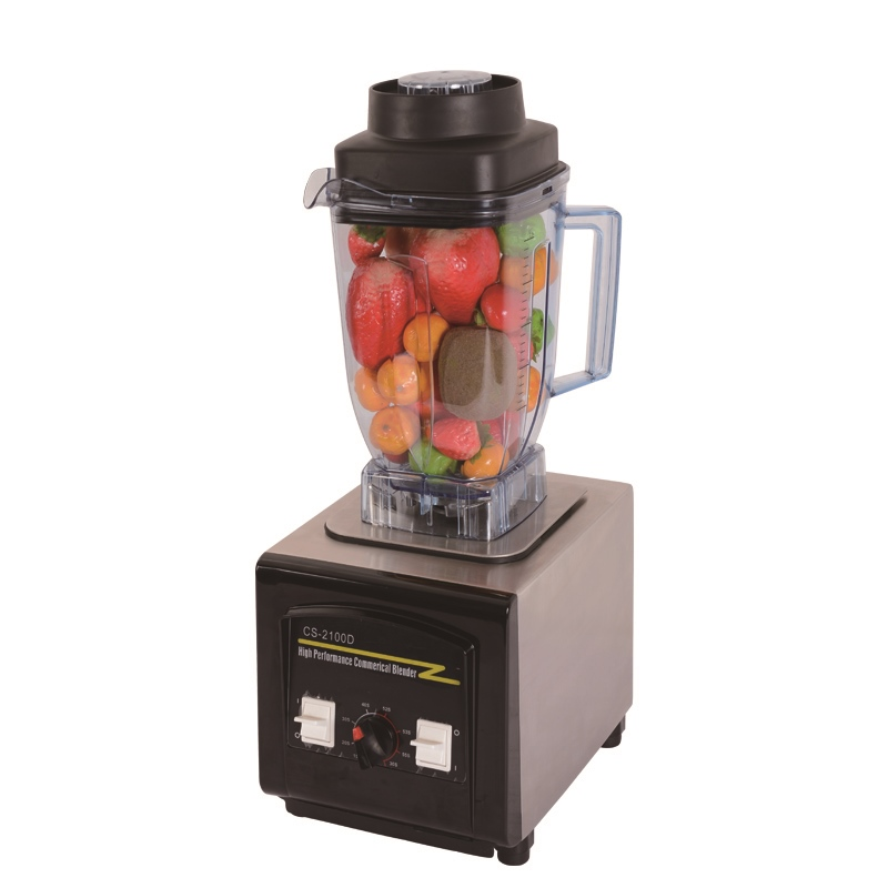 commercial blender german motor 2100w super electric food blender smoothie