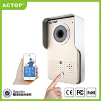 Smart home real-time talk, real-time monitoring, work with wifi door bell camera kit wireless security products