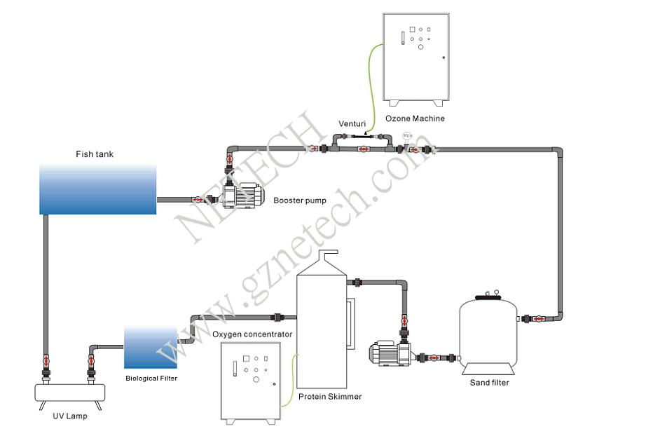 Power Free Water Treatment Equipment Swimming Pool Protein Skimmer Buy Swimming Pool Protein