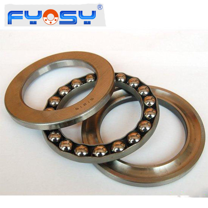 Bearing Steel Flat Thrust Ball Bearing Thrust Bearings 51104 51105 51106 51107