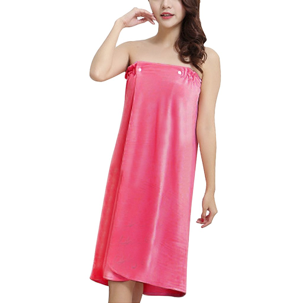 2ac199e0b3 ... Terry Robe Bathing Tube Dress Cover up... Get Quotations · Women's  Girls Sexy Bath Wrap Towels, Super Absorbent Soft Velour Gym Spa Bath Beach  Pool