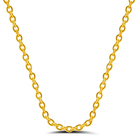 RINNTIN SC06 Bulk 925 Sterling Silver Gold Plated Necklace Chain for Women Jewellery Fashion 2020