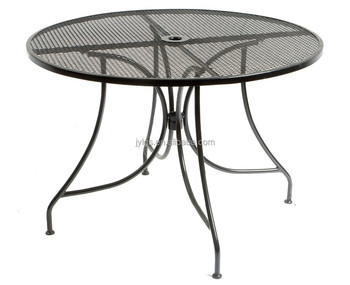 Outdoor Garden Patio Metal Mesh Dining Table Furniture Wire Product On Alibaba