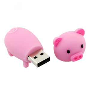 New Cute Cartoon Pig Hot Sale Pendrive USB2.0 Flash Card U disk 32GB 16GB 8GB 4GB usb flash drive