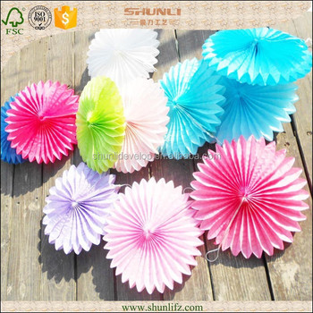 Baby shower party decoration hanging paper flower fan buy paper baby shower party decoration hanging paper flower fan mightylinksfo