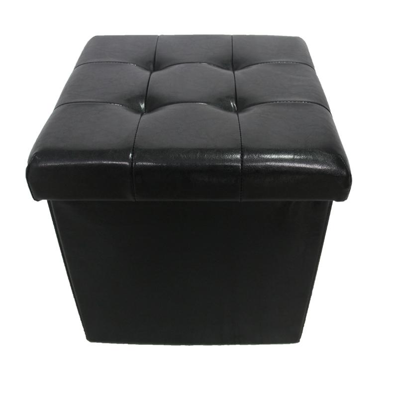 Furniture Coffee Table Leather Storage Ottoman