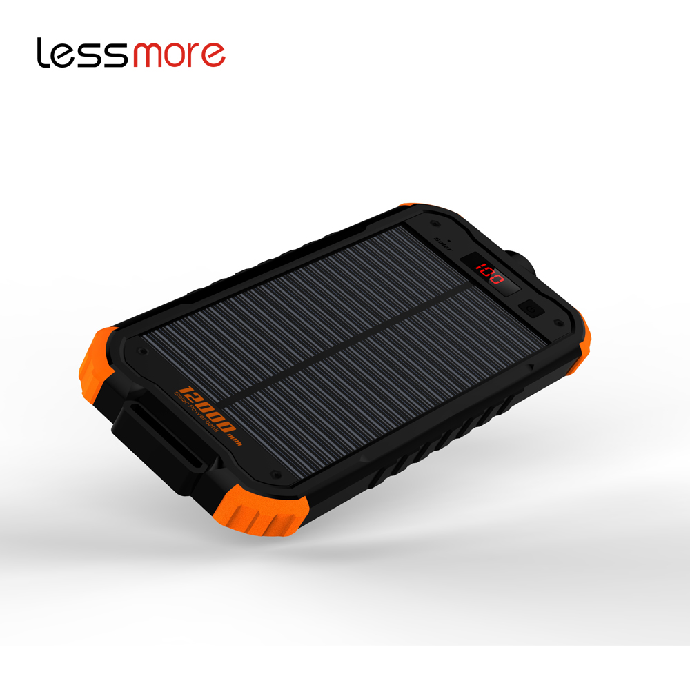 trending 2017 travel solar charger for mobile Ultra speedy solar charging device phone charger power bank flashlights for Iphone