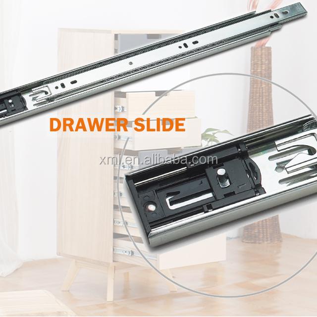 self closing drawer slides ball bearing roller guide rail