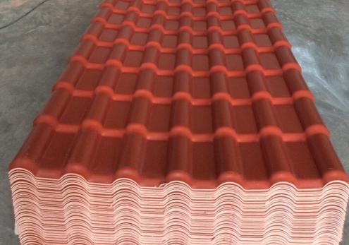 pvc material building materials roof tiles for home house