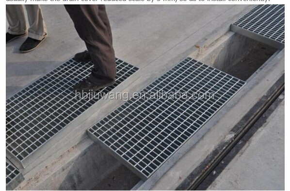 Drainage Channel Grating Hot Dip Galvanized Drainage