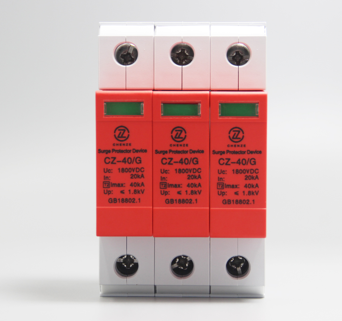 18mm Shield Type 3P PV Surge Protection Device