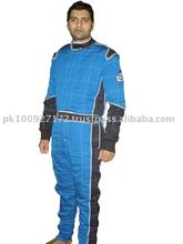 Double Layer Nomex Sateen Blue and Black with Nascar cuff and 360 Radial Arm