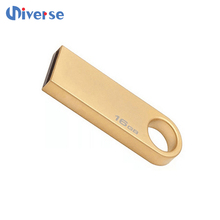 Gold Silver Metal Stick Model 8Gb Usb 2.0 Flash Memory Stick Thumb Pen Drive 8G U Disk