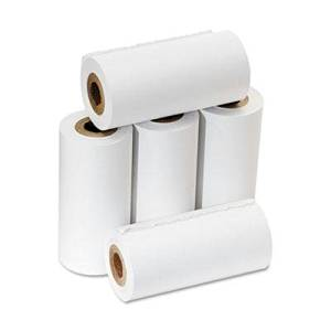 """Pm Company - 4 Pack - One-Ply Adding Machine/Calculator Rolls 2-1/4"""" X 17 Ft White 5/Pack """"Product Category: Paper & Printable Media/Machine Paper Rolls"""""""