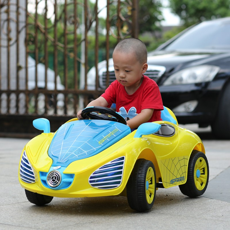 4 wheels toys car 6V electric romote control spider ride on car