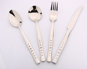 SH - Low MOQ Fast Delivery 18/10 Stainless Steel Modern Cutlery