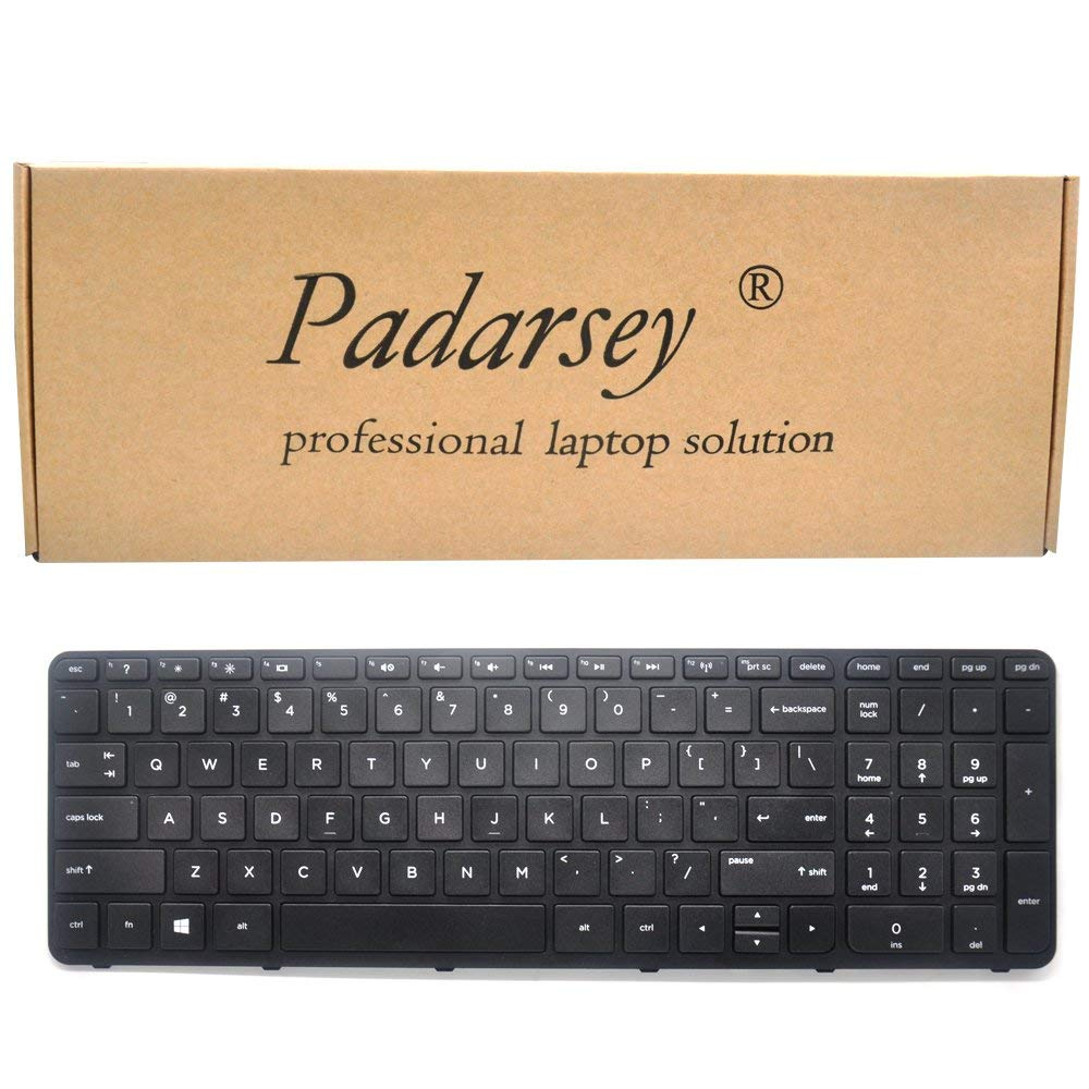 New US keyboard for HP Pavilion 17-e061nr 17-e063nr 17-e064nr 17-e067cl W// Frame