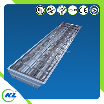 High End Recessed Various Type 2x36w Grid Grille T5 Led Light Fixtures Ul Ce Rohs