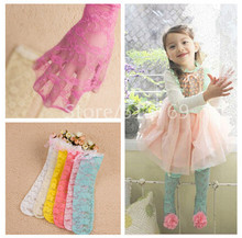 1 Pair Free Shipping Fashion Baby Girls Lace Socks Kids Princess Bowknot Stocks Summer Kids Socks