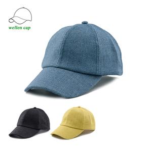 7b6718f23 Custom beige hemp baseball caps front cactus embroidered jute / burlap  baseball cap Soft hemp men baseball cap