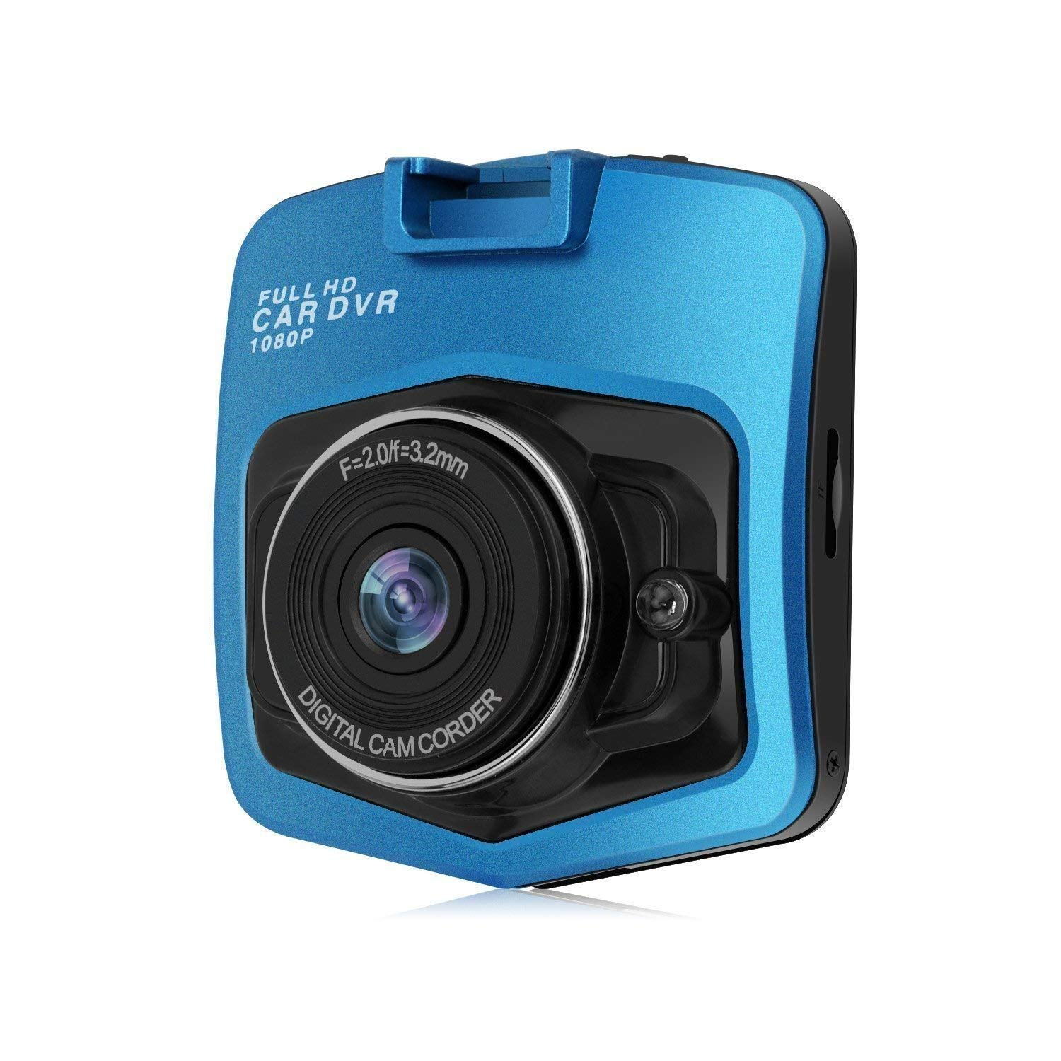 """Car Dash Cam, coolsun 2.4"""" LCD FHD 1080p 160 Degree Wide Angle Dashboard Car Camera Recorder with Night Vision,WDR, Loop Recording"""