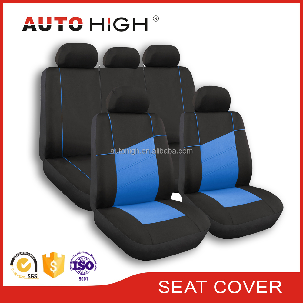 car seat cover universal four season all polyester piping 9PCS