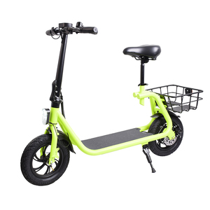 City coco Adult electric scooter motorcycle with seat and basket 350W mobility scooter electrical with pedals for sale