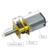 Dc Motor 12 V 500 Rpm 3 Mm Dual As Mini Metal Gear Motor