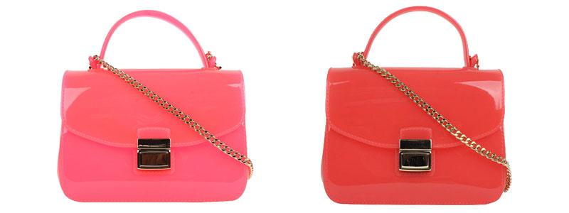 Bulk Designer Handbags Summer Women Shoulder Sling Bags Pink Jelly ... 08afe45ec3