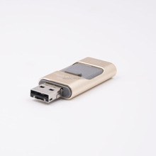 Hottest Christmas gift HD storage memory 16GB 32GB 64GB 128GB usb flash drive for iphone