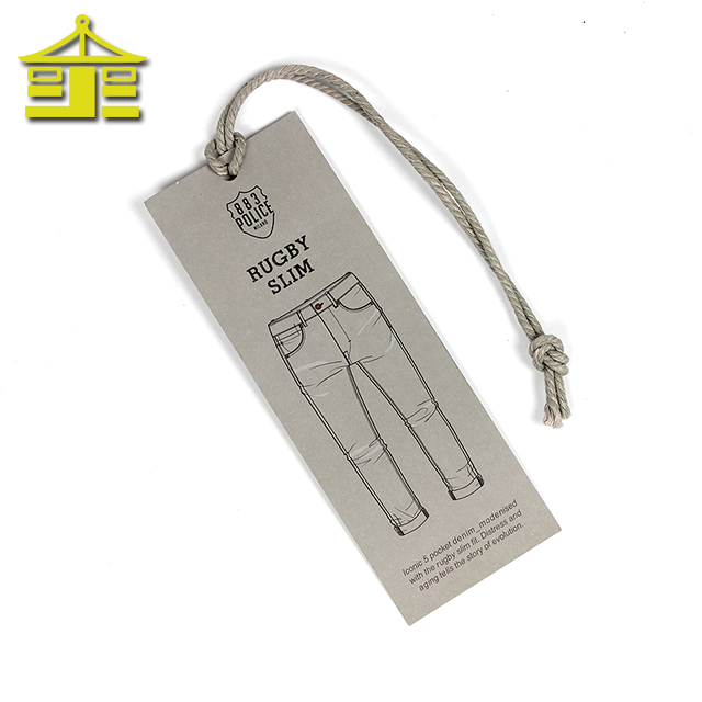 Apparel China Brand Super Custom String Shoe Recycled Garment Paper Hang Tags Clothing Tag Buy