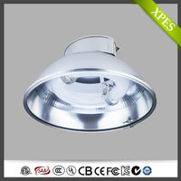 Low power consumption induction high bay lighting fixtures