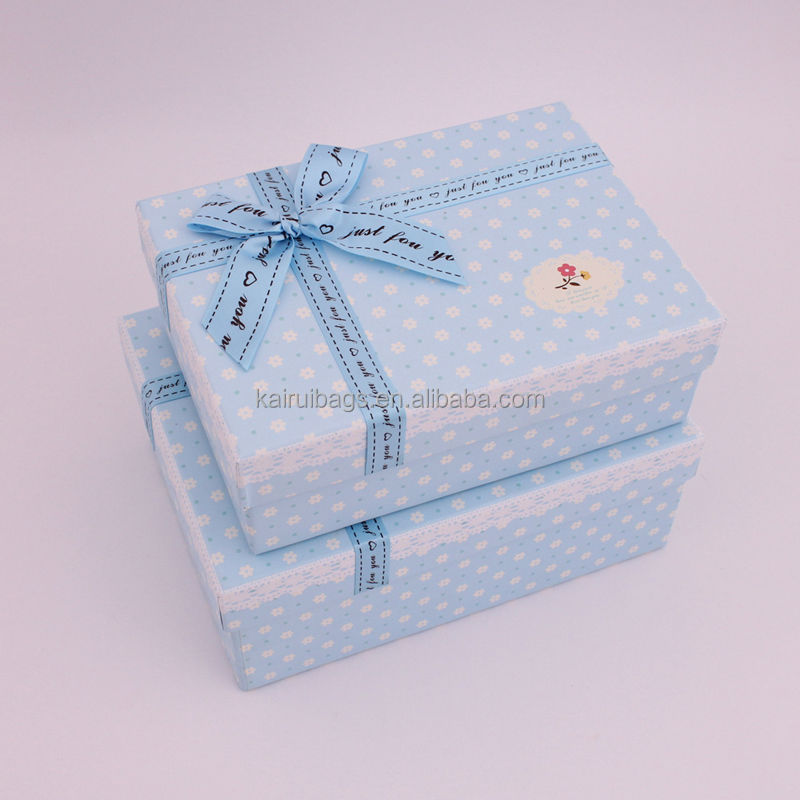 With Lid Decorate Baby Gift Box