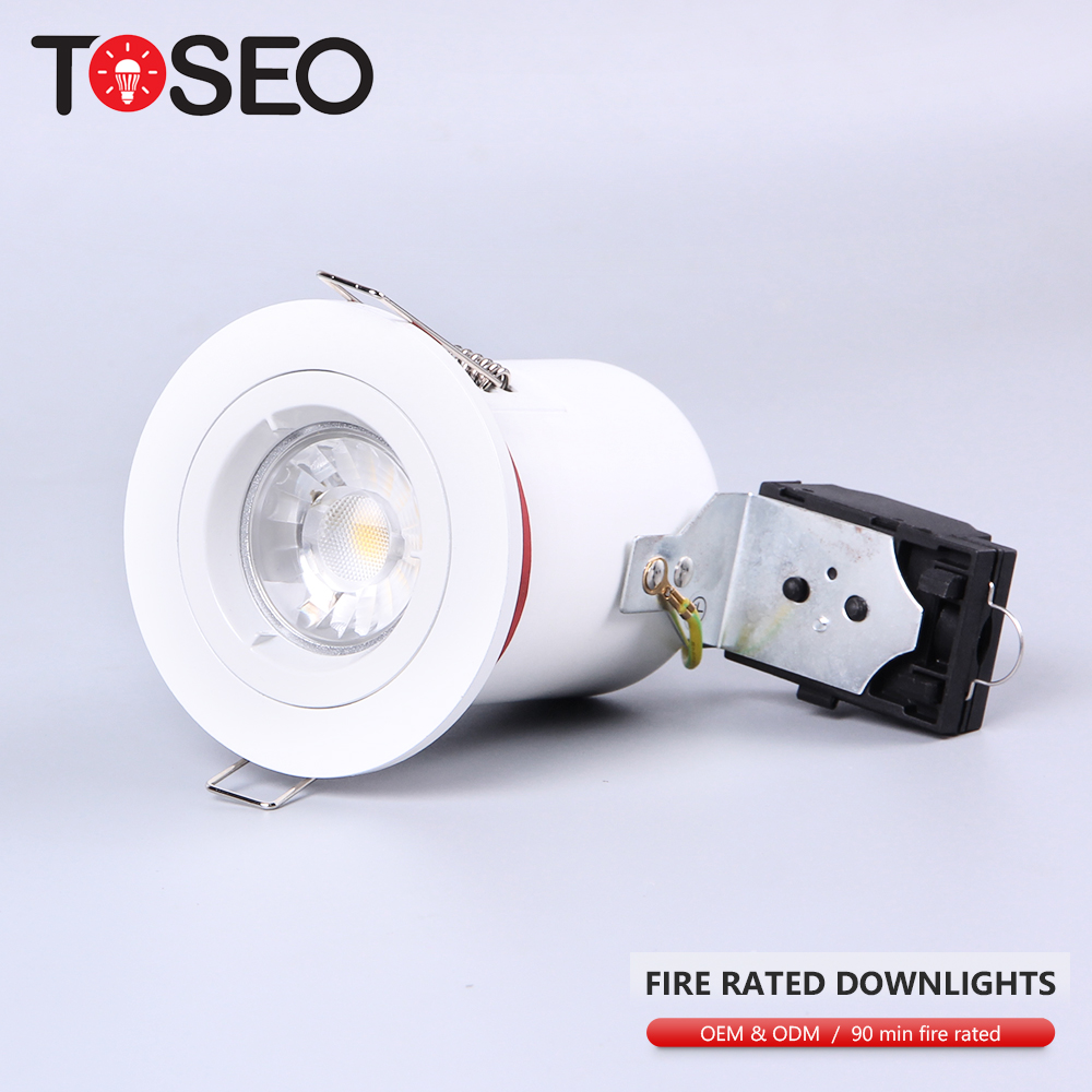 5W DIMMABLE LED DOWNLIGHT SPOTLIGHT FIRE RATED DIE CAST FIXED 240V