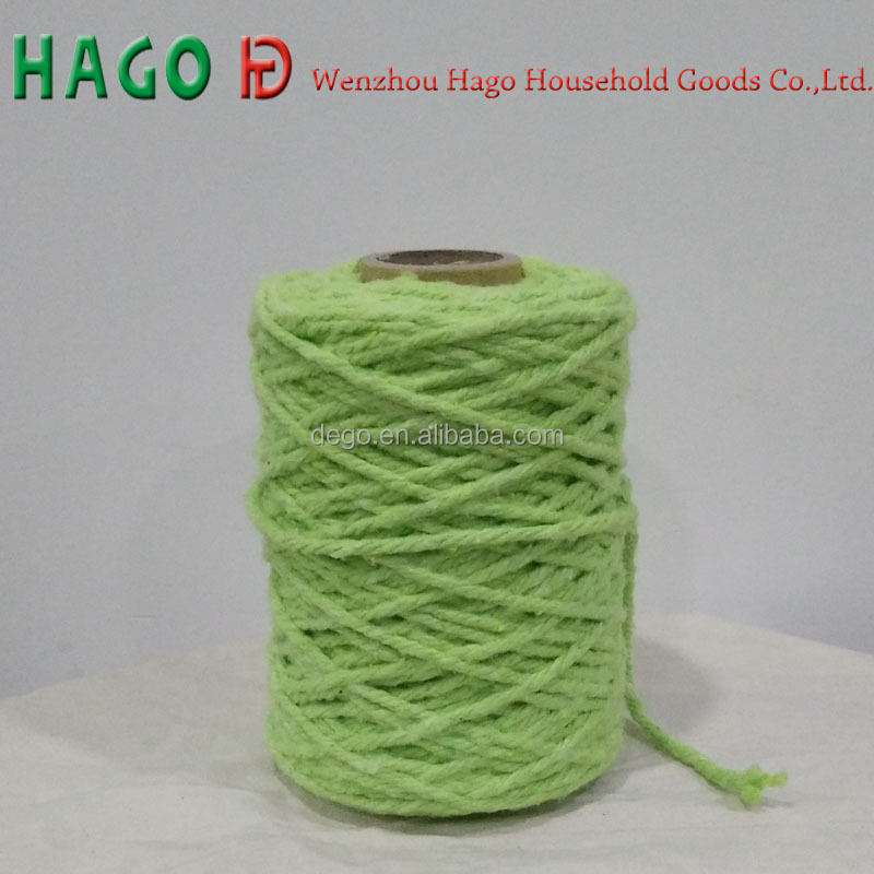 open end recycled cotton color yarn for mop