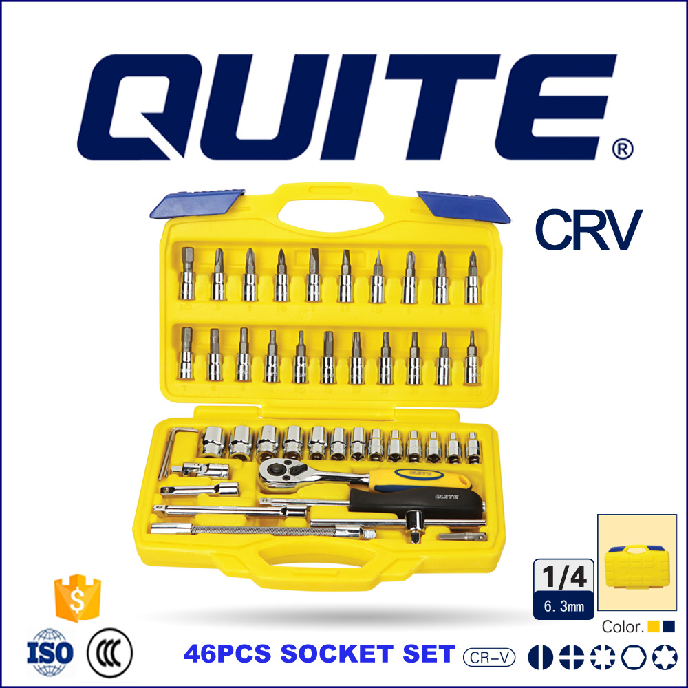 China hot sale CRV 1/4inch automotive hand tools kits
