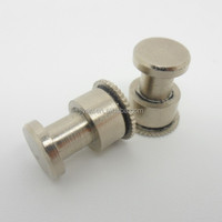High precision CNC turning machining galvanized SUS keyhole fasteners