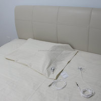 Antibacterial silver fitted Queen size conductive earth sheet(153cm*203cm)