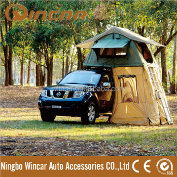 Top Pop Up Tent Ripstop Canvas car roof top tent & Top Pop Up Tent Ripstop Canvas car roof top tent View car top ...