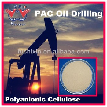 Cmc Pac For Oil Well Drilling Poly Anionic Cellulose Low Viscosity ...