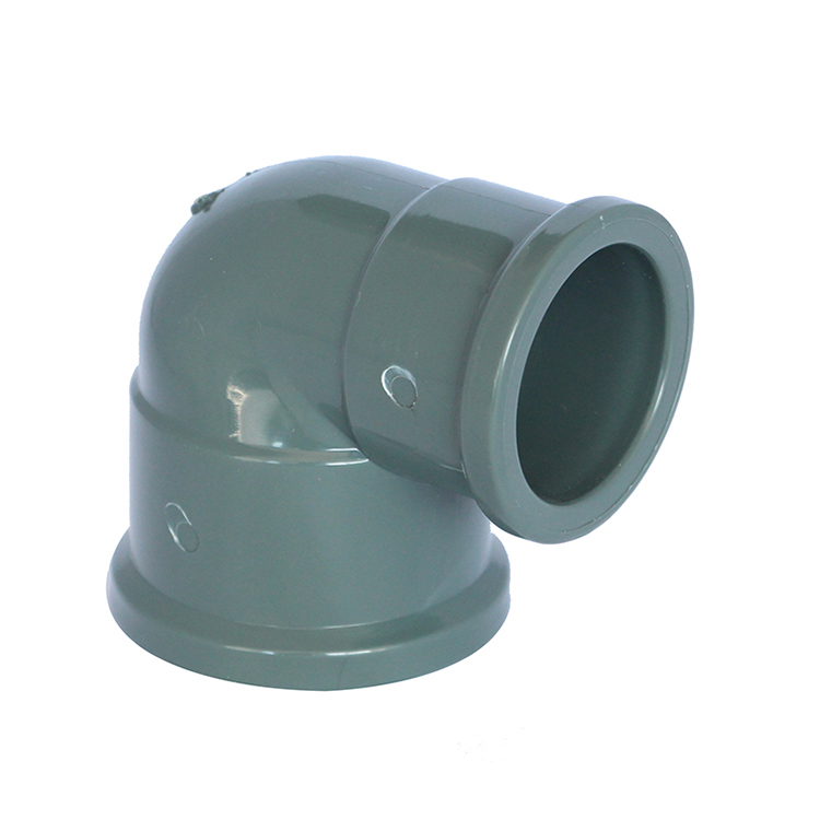 NBR5648 PVC U PVC-U 90 Degree Elbow Pipe Fitting
