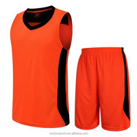 Wholesale reversible training basketball jersey and pants