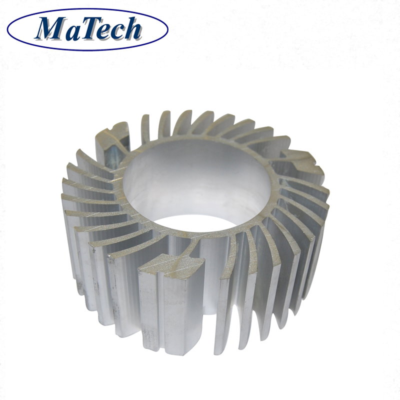 Extrusion Round Size Aluminum Heat Sink Tube Price
