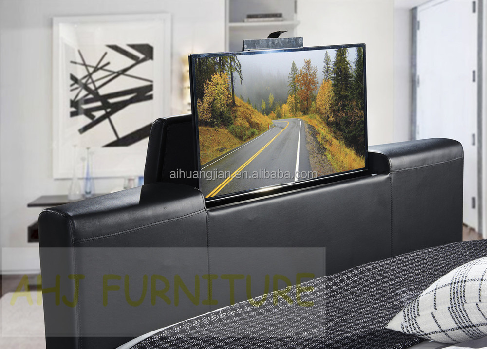 tv bed mechanism under bed tv lift bed with tv stand buy. Black Bedroom Furniture Sets. Home Design Ideas