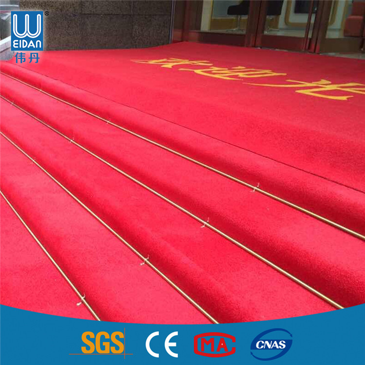High quality wedding aisle runner carpet with cheap price